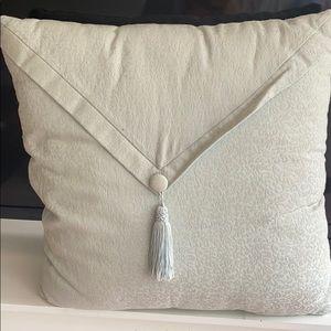Mint green pillows (2)